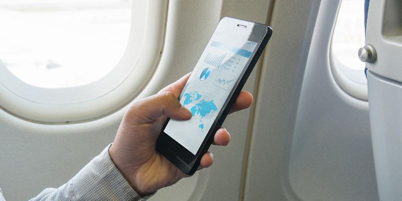 JAL国内線 機内 Wifi
