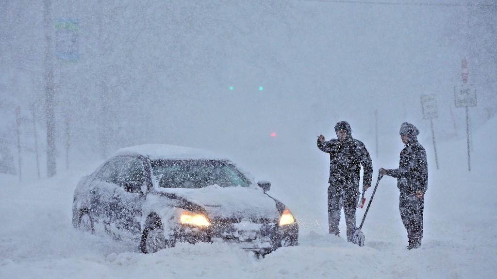 大雪での遅延・欠航