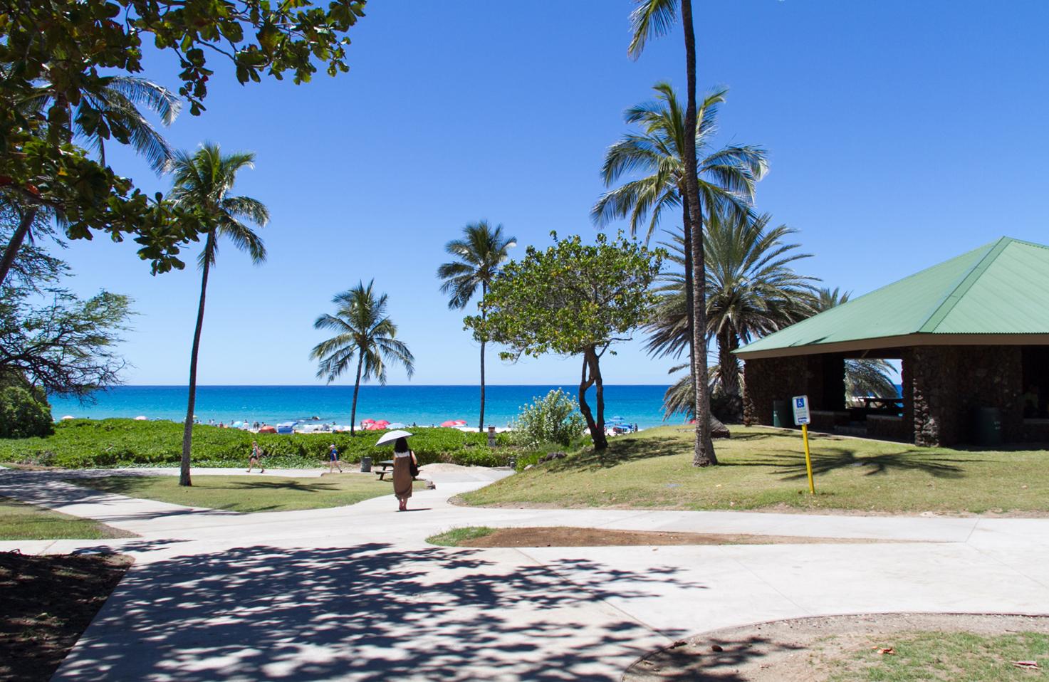 ハワイ島・コナ ビッグアイランド ハプナビーチ