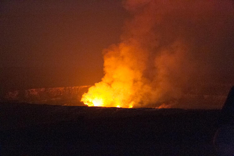 ハワイ・コナ ビッグアイランド キラウエア火山