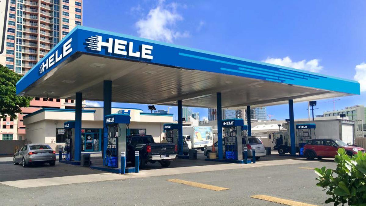 ハワイ コナ ハワイ島 ガソリンスタンド