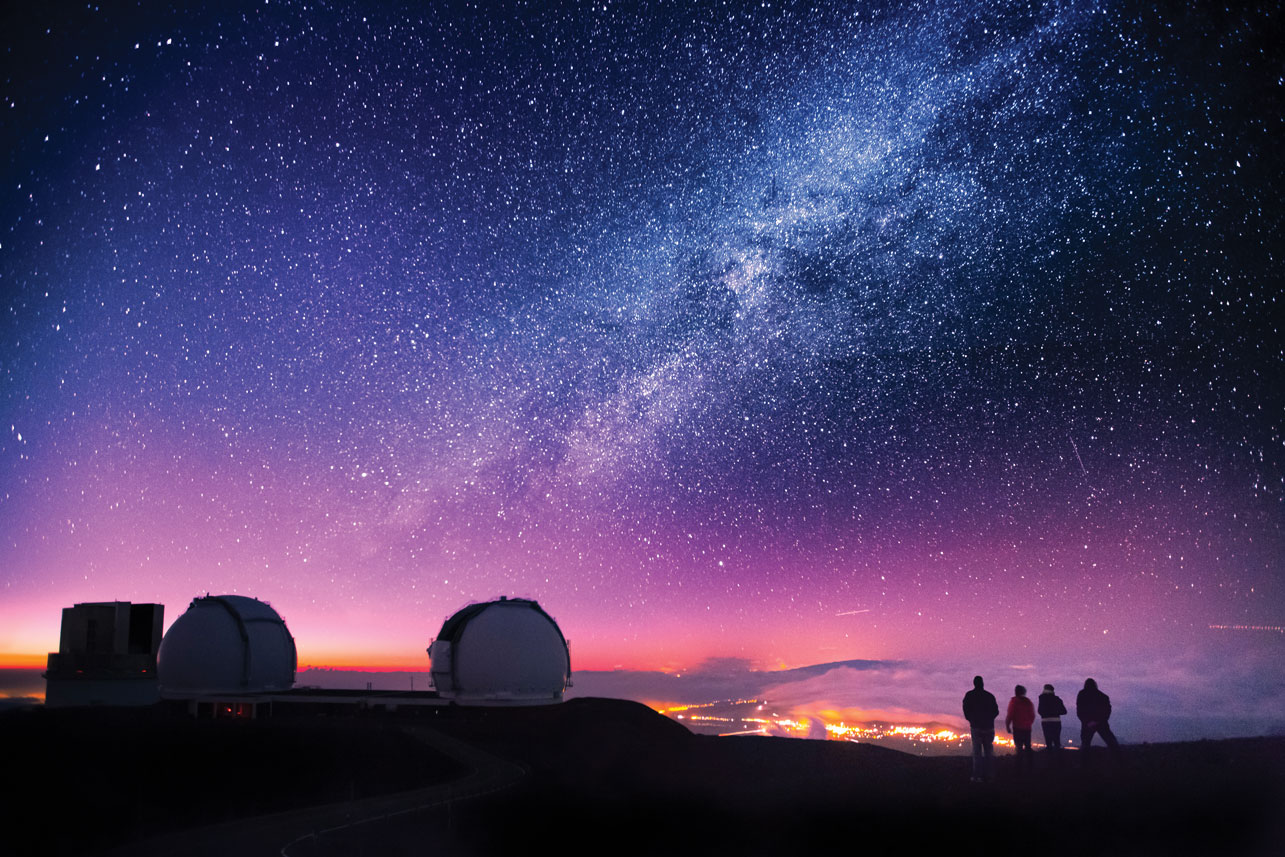 ハワイ島・ビッグアイランド コナ マウナケア 星空ツアー